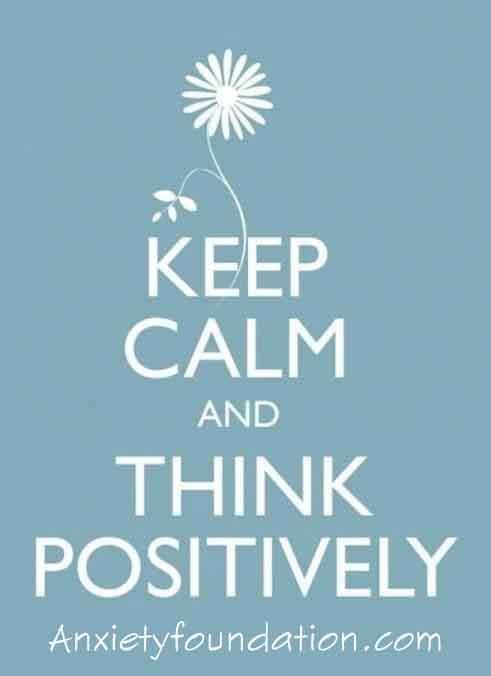 keep calmthinkpositive