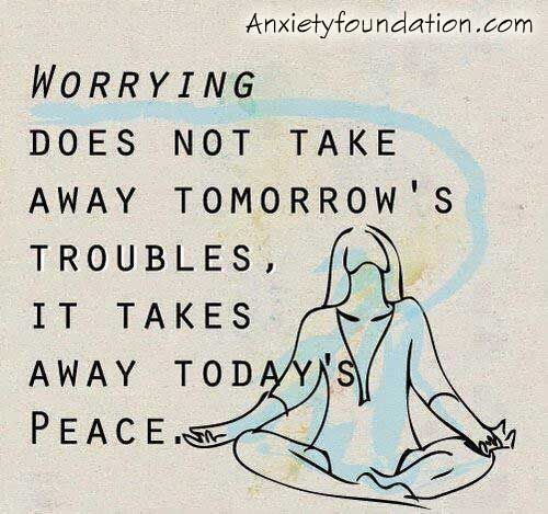 worry anxiety