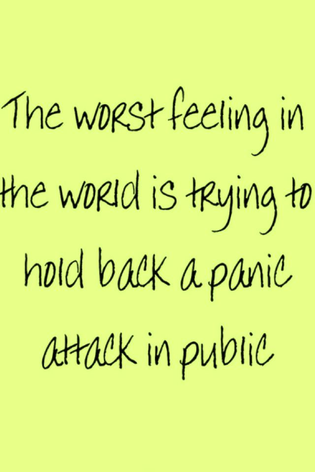 panic attack quote