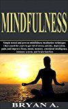 MINDFULNESS: Simple tested and proven 30-day mindfulness meditation techniques to get rid of stress, anxiety, depression, and improve brain function, focus, mood, memory, pain and immune system