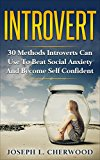 Introvert: 30 Methods Introverts Can Use To Beat Social Anxiety And Become Self Confident (social skills, shyness, personal development, confidence, self-esteem, happiness)