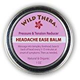 Headache Migraine Relief. Herbal Balm with Essential Oils. Tension Headache, Sinus Headache, Stress Anxiety Relief. Use with Headache hat, Headache Pillow, migraine mask, ice pack, migraine glasses.
